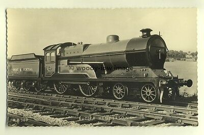 ry364 - Great Central Railway Engine no 506 Butler-Henderson - postcard