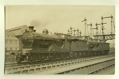 ry380 - Central Railway Engines no 71 & no 14503 - postcard