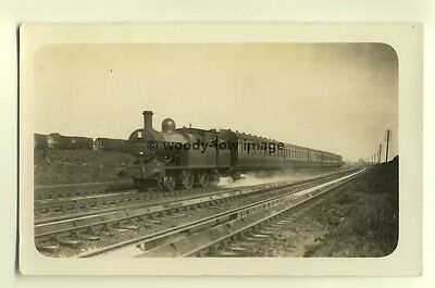 ry388 - Railway Engine - postcard