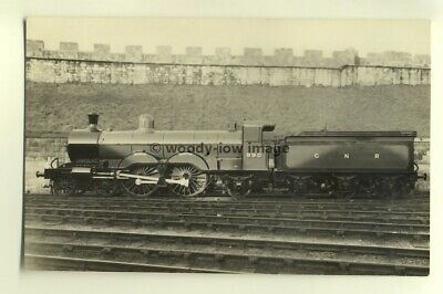 ry412 - GNR Railway Engine no 990 Henry Oakley - postcard