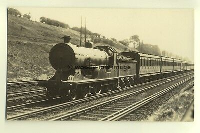 ry441 - Southern Railway Engine no 466 - postcard