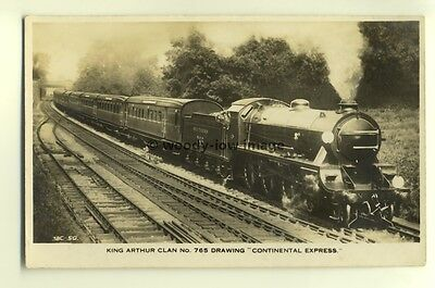 ry442 - Southern Railway Engine no 765 - postcard