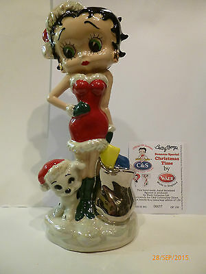 Wade Betty Boop Christmas Time Silver Sack Le 150