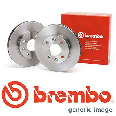 To Clear - New Brembo - Rear- Brake Discs (Pair X2) - 08.9176.10