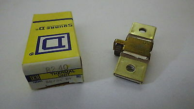 Square D B2.40 Overload Relay Thermal Unit B 2.40 Nib