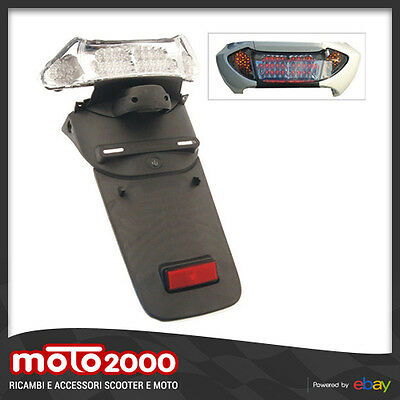 Stop Posteriore A Led Con Parafango Yamaha T-Max Tmax 500 2001 2007 - 77204416T