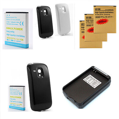 2450mAh 3800mAh Extended Li-ion Phone Battery For Samsung Galaxy S3 Mini i8190