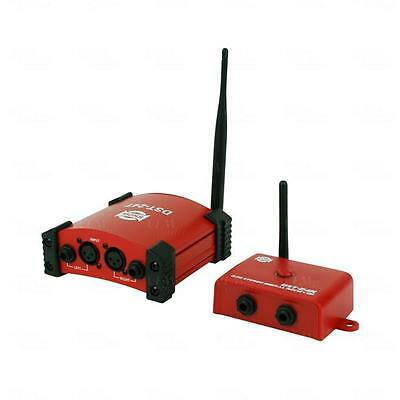 SHOW Wireless Stereo Audio Transmitter Kit For Mixers & Powered Speakers