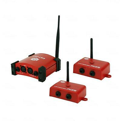 SHOW Wireless Stereo Audio Transmitter Dual Kit For Mixers & Powered Speakers