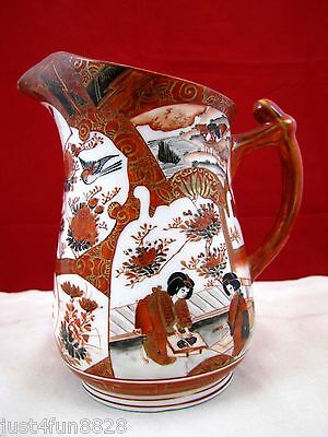 Fine Antique 19th century Japanese wine pitcher with mark