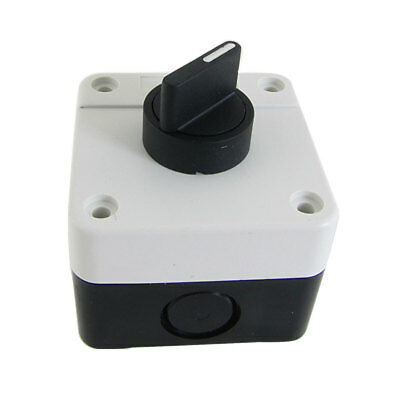Plastic Encased NO Rotary 2 Position Knob Pushbutton Switch