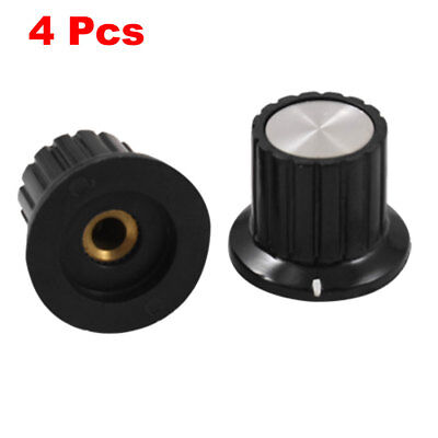 4 Pcs Potentiometer Control Knob 4mm Shaft Insert Diameter