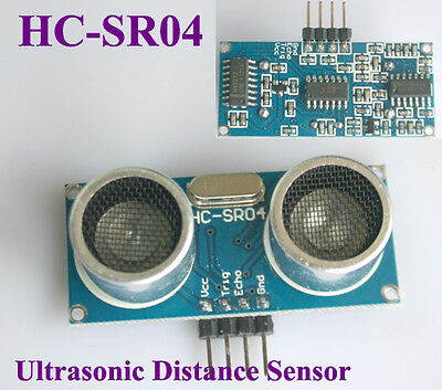 2x New Arduino Ultrasonic Module HC-SR04 Distance Measuring Transducer Sensor