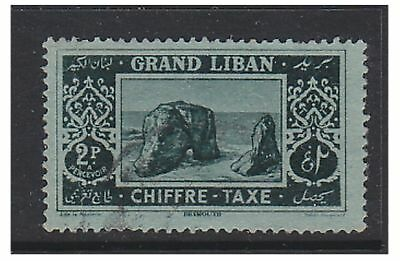 Lebanon - 1925, 2p Postage Due - Used - SG D77