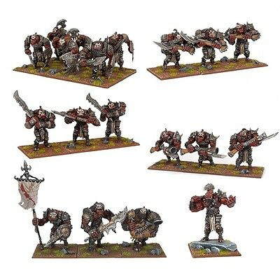 Mantic Games Kings of War BNIB Ogre Starter Force MGKWH100