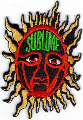 Sublime Sun Multi Colored Embroidered Patch !