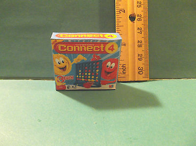 Barbie 1:6 Furniture Handmade Miniature Game for Tommy or Kelly CONNECT FOUR