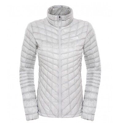 The North Face Thermoball Full Zip Jacket Damen Winterjacke high rise grey