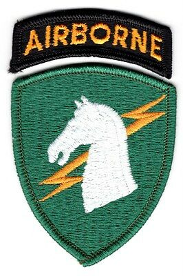 Army Patch:  1st Special Operations Command set - merrowed edge