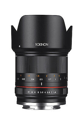 Rokinon RK21M-M 21mm F1.4 ED AS UMC High Speed CSC Wide Angle Lens for Canon M