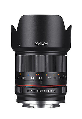 Rokinon RK21M-MFT 21mm F1.4 ED AS UMC High Speed CSC Wide Angle Lens for MFT
