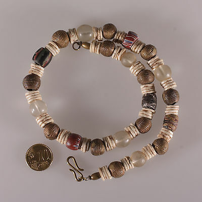 8143 Fine Necklace with old Trade beads