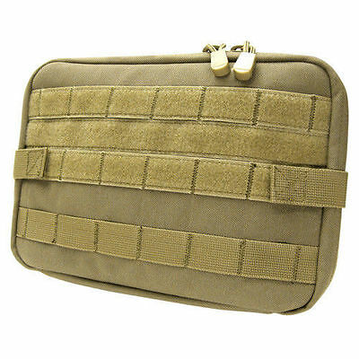 Condor Large T&T Tactical Tool Pouch TAN - Molle pack tools, gear, mag #MA54