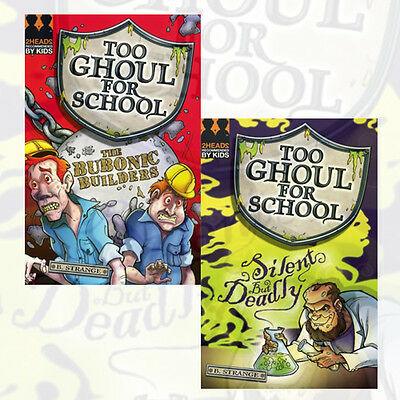 B. Strange Collection Too Ghoul for School Series, 2 Books Collection Set NEW