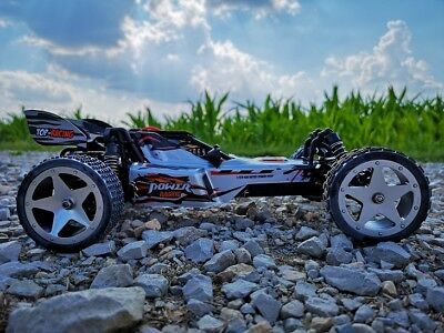 RC 2,4 Ghz Racing Buggy SHARKOON 2WD ferngesteuertes Auto Monster Truck
