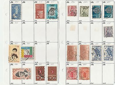 Pakistan stamps from old approval book (Lot 3)