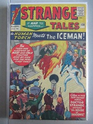 Strange Tales Vol. 1 (1951-1976) #120 VF+ UK Price Variant