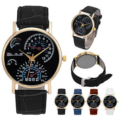 Luxury Mens Watch Solid Stainless Steel Back Cover Digital Quartz Wrist Watches