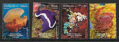 Malaysia 2015 Joint Issue With Thailand Mnh