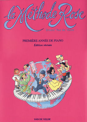 Methode Rose Piano Partition Nvlle Version