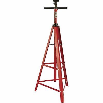 Strongway High-Position Hoist Stand- 2-Ton Capacity, 48 3/4-84 1/2 Lift Range