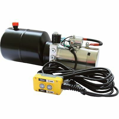 NorTrac 12 Volt DC Hydraulic Power Unit- Lift-Hold-Lower Applications