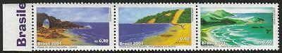 BRAZIL MNH 2001 Beaches