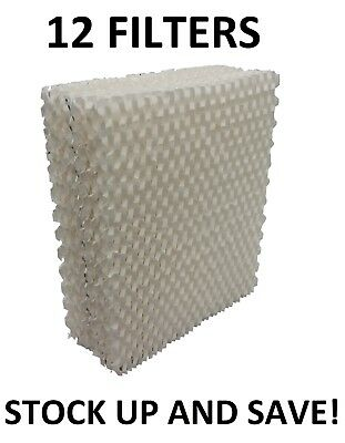 Humidifier Filter for Bemis Essick Air 1043 Super Wick - 12 Pack