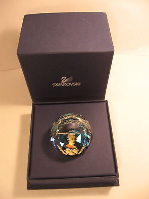 W.A. Mozart Paperweight Swarovski Crystal 1 3/8 in Tall Faceted Glass Weight