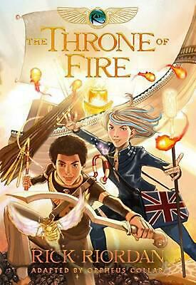 Kane Chronicles, The, Book Two the Throne of Fire: The Graphic Novel by Orpheus
