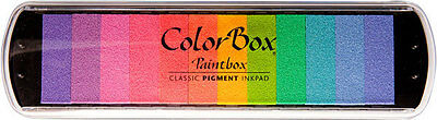 Color Box Paintbox PASTEL Pigment Ink Pad 13008 Brand NEW! Clearsnap Sealed
