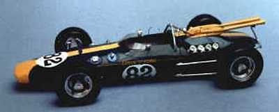 Lotus 38 Indianapolis racing car kit - white metal model to assemble and paint