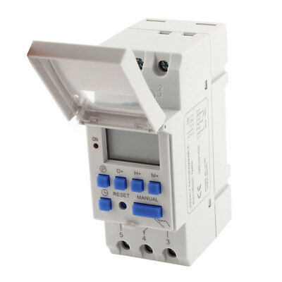 THC15A DC 24V Digital LCD Weekly Programmable Timer Time Relay Switch
