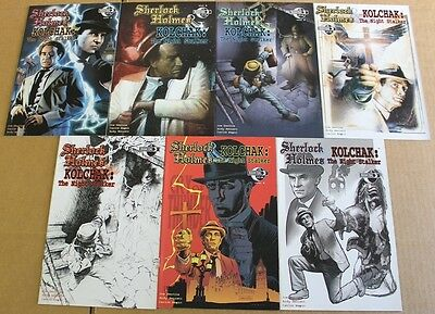 Sherlock Holmes And Kolchak (2008) #1-3 NM Lot of (7) With Variants