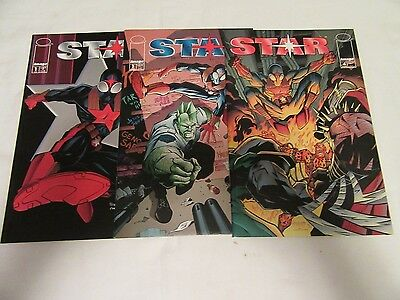 Star #1 3 4 Comic Book Issue Lot of 3