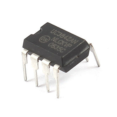 Electronic Component UC3842AN Packaging 8 Pin PWM Controller IC
