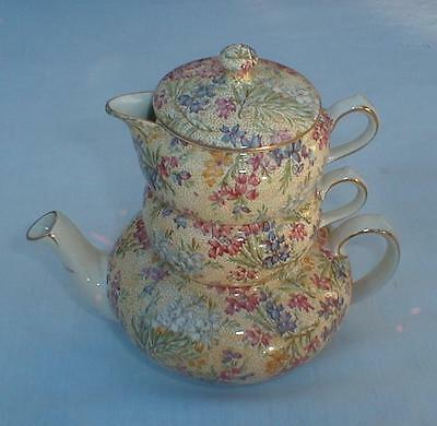 Lord Nelson Heather Stacking Teapot Creamer And Sugar