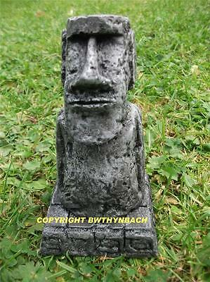 New Design Latex Mould Moulds Mold Small Moai Easter Tiki Island Head Statue