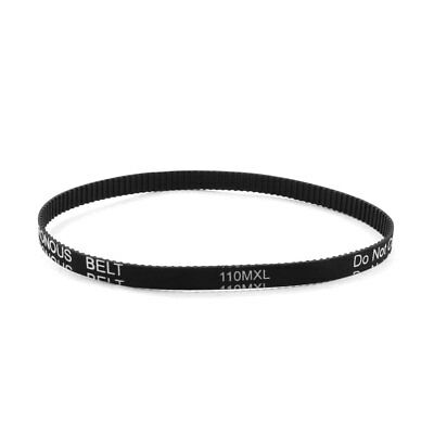"110MXL025 138-Tooth 6.4mm Wide Synchronous Timing Belt 11"" for Stepper Motor"