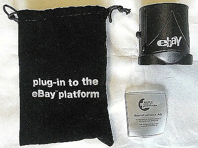 "2008 eBay Collectible Branded Travel Plug-""Plug-In to the eBay Platform"" in Bag"